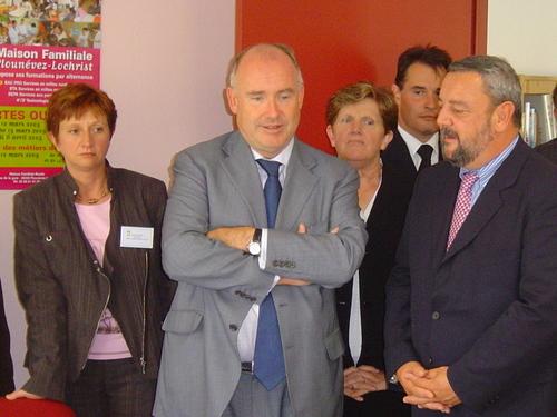 Dominique Bussereau, min. de l'agriculture