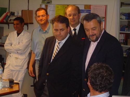 Xavier Bertrand, Ministre de la Santé et des Solidarités