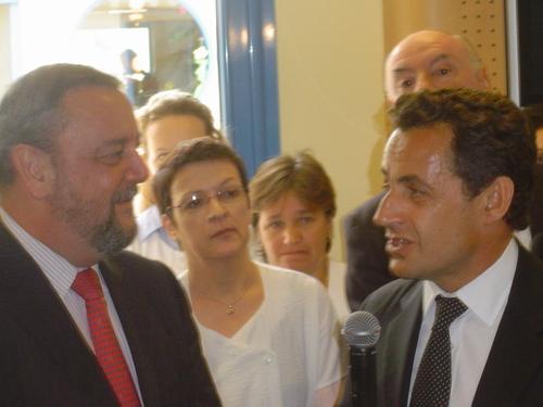 Nicolas SARKOZY le 1er Mai à Bourg Blanc