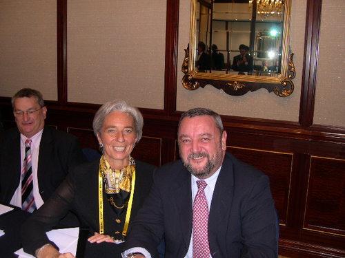 Mme Christine Lagarde, ministre déléguée au Commerce extérieur